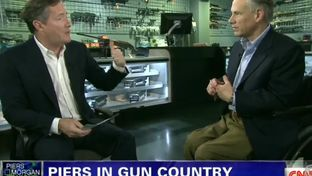 Greg Abbott talks guns with Piers Morgan