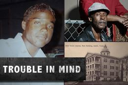 Andre Thomas in a photo taken during his teen years, left. Danny Thomas, Andre Thomas' father, top right. The State Insane Asylum in Austin, bottom right.