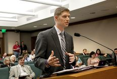 State Rep. Matt Krause, R-Fort Worth, explains HB627 to the Select Committee on Federalism & Fiscal Responsibility on March 13, 2013.