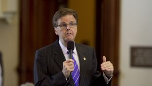 Sen. Dan Patrick R-Houston, speaks during budget bill SB1 discussion on March 20th, 2013