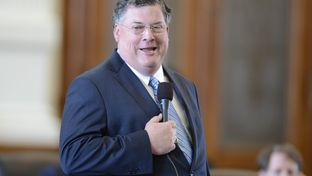 State Sen. Tommy Williams, R-The Woodlands, during a state budget debate on March 20, 2013.