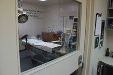 An abortion procedure room at the Whole Woman's Health ambulatory surgical center in San Antonio.