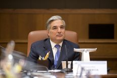 University of Texas System Chancellor Francisco Cigarroa at a Board of Regents meeting in Austin.