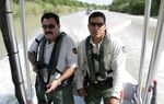 CBP Marine units patrol the southerm most portion of the Rio Grande river in Texas.