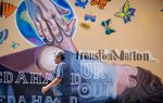 Isaias Garcia, 60, passes a mural at Haven for Hope of Bexar County, a community-based mental health care provider and transformational center for homeless men and women. It has been discussed among lawmakers as a model for providing mental health care across the state.