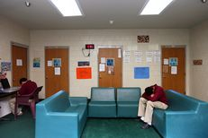 One of the residence units at the Travis County Juvenile Detention Center in Austin, Texas, Monday, June 24, 2013.