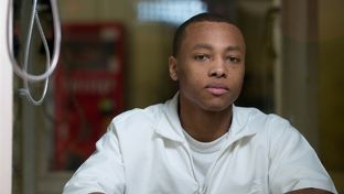 Scottie Louis Forcey, 21, photographed at the Barry B. Telford Unit in New Boston, Texas on July 2, 2013. Forcey is serving a life sentence without parole for a murder committed when he was 16.
