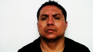 "Leader of the Zetas drug cartel Miguel Treviño Morales, also known as ""40."""
