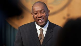 State Representative Sylvester Turner at the Texas State Capitol in Austin on May 27, 2013.