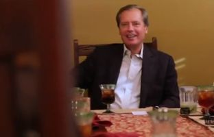 YouTube video still from David Dewhurst: Listening Leader political ad.