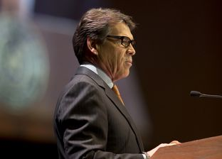 Gov. Rick Perry speaks at the Star of Texas Awards ceremony on Sept. 12, 2013.