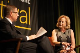 From the 2013 Texas Tribune Festival, Texas First Lady Anita Perry takes part in a one-on-one conversation with Tribune CEO and Editor-in-Chief Evan Smith on Sept. 28, 2013.