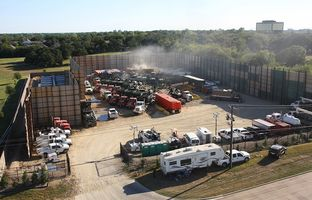 Fracking in Fort Worth, Sept. 27, 2013
