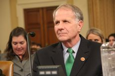 U.S. Rep. Ted Poe, R-Beaumont, testifies at a hearing in Washington, D.C., on failures in foster care that lead to sex trafficking.