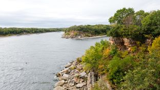 Gov. Rick Perry has missed a legislative deadline to assemble a commission tasked with answering the latest questions about precisely where Texas and Oklahoma's border sits along Lake Texoma, pictured above.