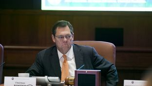 UT System Board of Regents Chairman Paul Foster during a meeting on Dec. 12, 2013.