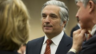 UT Chancellor Francisco Cigarroa at the House Select Committee hearing on Dec. 18, 2013
