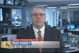 Texas Tribune Executive Editor Ross Ramsey is a regular guest on WFAA-TV's Inside Texas Politics.