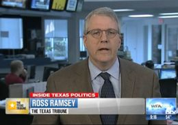 The Texas Tribune's Ross Ramsey on WFAA's Inside Texas Politics, Jan. 26, 2014.