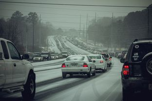 Traffic in Woodstock, Ga., outside Atlanta on, Jan. 21, 2014.