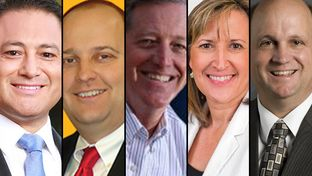 The five Republican primary candidates in the SD-10 race include Tony Pompa, a trustee on the Arlington Independent School District board; Colleyville chiropractor Jon Schweitzer; Mark Skinner, who owns a commercial real estate business; Tea Party activist Konni Burton; and former state Rep. Mark Shelton.