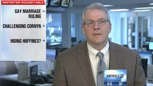 "Texas Tribune Executive Editor Ross Ramsey on WFAA's ""Inside Texas Politics"" on March 2, 2014."