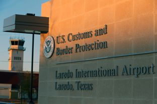 New Federal Inspection Station encompassing Mexican and US Customs at Laredo International Airport, Tuesday, March 11, 2014.