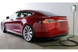 A Tesla Model S. The California-based electric automaker had considered Texas for its $5 billion lithium-ion battery factory. The company is also hoping to sell cars in Texas but does not have required franchise dealerships, as state law requires.