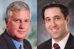 Candidates for Comptroller, Mike Collier and Glenn Hegar