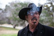 Candidate for Commissioner of Agriculture, Kinky Friedman at home on his ranch in Medina on Dec. 12, 2013.