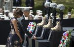 On Wednesday, for the second time in five years, President Obama visited Fort Hood to mourn alongside families of victims who were killed in a shooting on the military base.