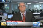 "Texas Tribune Executive Editor Ross Ramsey on WFAA-TV's ""Inside Texas Politics"" on April 20, 2014."