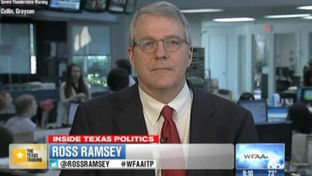 "Texas Tribune Executive Editor Ross Ramsey on WFAA-TV's ""Inside Texas Politics"" on April 27, 2014."
