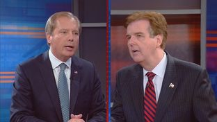 Lt. Gov. David Dewhurst and State Sen. Dan Patrick squared off in a debate for the upcoming runoff election for Lieutenant Governor.