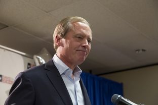 Lt. Gov. David Dewhurst gives his concession speech after loosing his reelection bid to Sen. Dan Patrick on May 27th, 2014