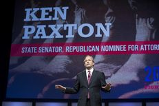 Attorney General candidate Sen. Ken Paxton speaks at the Republican State Convention June 6, 2014