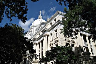 McLennan County Courthouse in Waco.