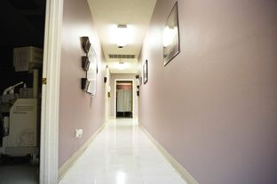 A hallway at the Whole Woman's Health clinic in Austin. The organization announced the clinic was shutting down Thursday, July 31.