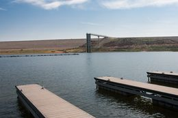 Panhandle towns are once again pumping out of Lake Meredith again, which was recently empty but now 4% full.