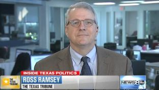 "Texas Tribune Executive Editor Ross Ramsey on WFAA-TV's ""Inside Texas Politics"" on August 24, 2014"