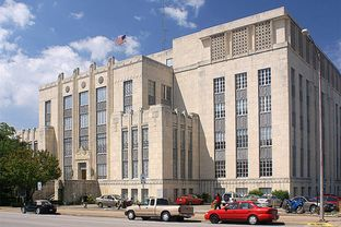 Travis County Courthouse in Austin, Texas.