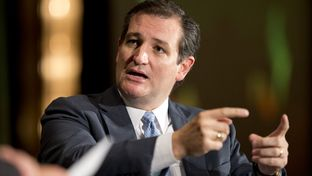 U.S. Sen. Ted Cruz in an interview with The Washington Post's Dan Balz at The Texas Tribune Festival on Sept. 20, 2014.