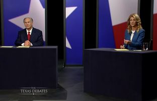 The second and final gubernatorial debate between Republican Attorney General Greg Abbott and state Sen. Wendy Davis, D-Fort Worth was held in Dallas on Sept. 30, 2014.