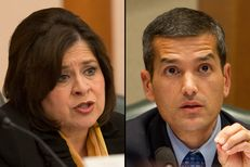 State Sen. Leticia Van De Putte and state Rep. Mike Villarreal — both Democrats from San Antonio — will face-off in the race to become the city's next mayor.