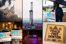 State lawmakers, the oil and gas industry and national environmental groups are asking deep questions about Denton, home to two universities, 277 gas wells and now, thanks to a rag-tag group of local activists, Texas' first ban on hydraulic fracturing.