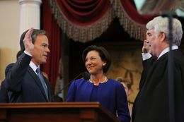 State Rep. Joe Straus, R-San Antonio, is sworn in as Texas Speaker of the House on January 13th, 2015