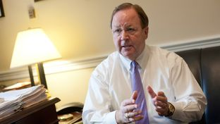 Rep. Bill Flores (R-Texas) is interviewed in his Longworth House building office in Washington, D.C., January 21, 2015.