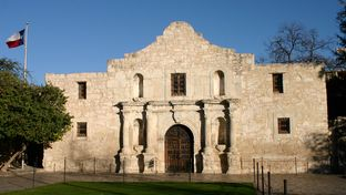 The Alamo in San Antonio.