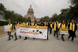 The National School Choice rally took place Jan. 30, 2015, in Austin.