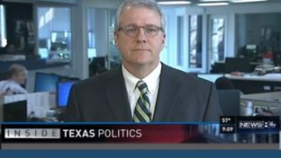 "Texas Tribune Executive Editor Ross Ramsey on WFAA's ""Inside Texas Politics"" on Feb. 15, 2015."
